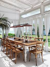 10 Favorite Outdoor Dining Spaces British Colonial DecorColonial Style HomesBritish