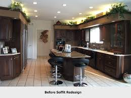 design confusion of kitchen soffits organized by design
