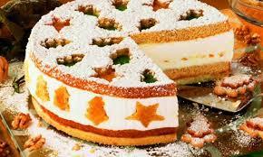 weihnachtliche käse sahne torte