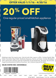 Best Buy Coupons - 20% Off A Single Small Appliance At