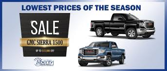 Liberty Buick GMC Is A Charlotte GMC, Buick Dealer And A New Car And ... Gmc Specials Quirk Cars 2018 Yukon Styles Features Hlights 2006 Sierra 1500 For Sale Nationwide Autotrader Pickup Truck Beds Tailgates Used Takeoff Sacramento 2010 Hybrid Price Photos Reviews 2015 Sierra 2500hd Image 11 All New Denali 62l V8 Everything Youve Ever Savannah Buick Dealer Jones 1949 Chevygmc Brothers Classic Parts Gmc Diesel Trucks Luxury Lifted 2014 Chevy Pickups Recalled For Cylinderdeacvation Issue