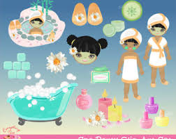Spa Party Clipart 2070486