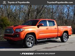 100 Used Toyota Tacoma Trucks 2016 TRD Sport Double Cab 4WD LB V6 Automatic At