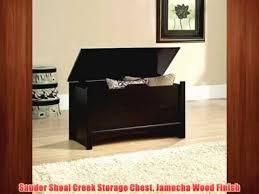 Sauder Shoal Creek Dresser Jamocha Wood Finish by Sauder Shoal Creek Storage Chest Jamocha Wood Finish Youtube