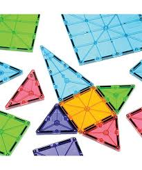 Valtech Magna Tiles Canada by Constructive Playthings Clear Colors Magna Tiles Zulily
