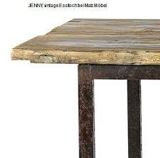 esstisch altholz eisen