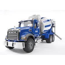 Bruder MACK Granite Cement Mixer - Bruder Toys America - Toys