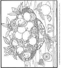Fruit Bowl Thanksgiving Coloring Pages 23