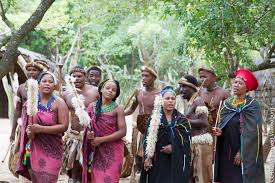 Zulu Men And Women In Traditional Dress C Willem Van Valkenburg Flickr