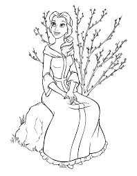 And More Of These Coloring Pages Beauty The Beast 2017