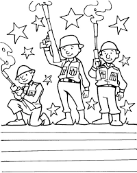 Printable Veterans Day Coloring Pages For Kids