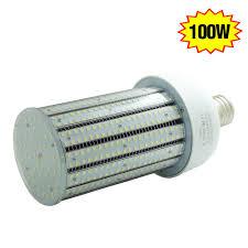 100 watt led corn bulb retrofit 13442lm ip64 outdoor parking