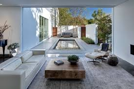 100 Modern Homes With Courtyards Small Courtyard Swimming Pool Home