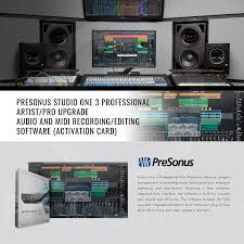 Amazon Presonus STUDIO 26 USB 20 Recording System And StudioLive AR8 8 Channel Hybrid Performance Mixer With Studio One 3 Professional Upgrade