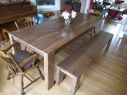 Walnut Dining Room Table Bench