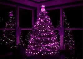 Black Christmas Tree With Purple Lights 471 Best
