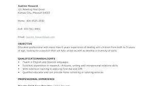 Housekeeper Resume Sample Housekeeping Examples Here Are Hotel Cv Uk