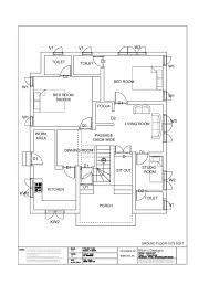 100 Modern Home Floor Plans Free Kerala House Plan 1174 Sq Ft 3 Bedroom Design