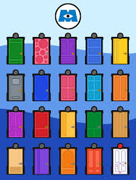 Monsters INC Doors by caritho on DeviantArt