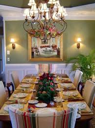 11 Decorating Dining Room Table For Christmas Plans Woodworking Setting A