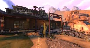 Tf2 Halloween Maps 2014 by Koth Sunset Saloon R2 2 Team Fortress 2 U003e Maps U003e King Of The Hill
