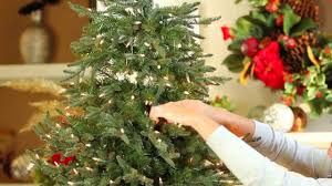 Ge Fraser Fir Christmas Tree by Quick Light Tree Video Youtube