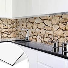 küchenrückwand alu dibond mauer 01 steinwand steine mauer