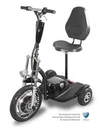 Triad 750 Seated 3 Wheel Electric Scooter