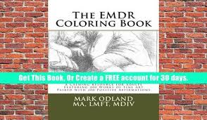 Ebook Download The EMDR Coloring Book A Calming Resource For Adults