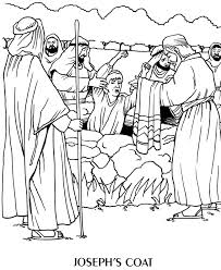 Unusual Design Story Of Joseph Coloring Pages Bible