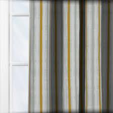 Casadeco Costa Rica Tissus Rayures Aqua Curtain Custom Curtains