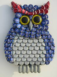 Hey I Found This Really Awesome Etsy Listing At 182102738 Metal Bottle Cap Bud Light Owl Wall Art
