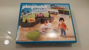 5584 playmobil wohnzimmer für luxusvilla wohnhaus