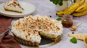 banoffee kuchen weltbestes rezept mit banane karamell