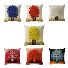 Red Decorative Pillows by Blue And Red Throw Pillows