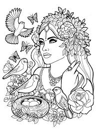 People Coloring Pages 6 Page Children