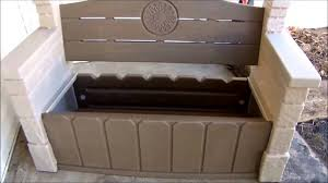 Rubbermaid Patio Storage Bins by Patio Rubbermaid Storage Bench Organize Rubbermaid Storage Bench