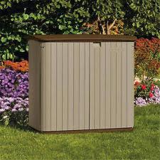 suncast bms3400 storage sheds 34 cu ft horizontal shed ebay