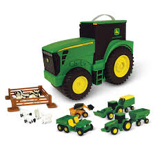 The Grab And Go John Deere Farm Set - Hammacher Schlemmer John Deere Farm Tractor Toy Truck Sounds Beeps Backing Up Plastic The Grab And Go Set Hammacher Schlemmer Big Peterbilt 367 W Lowboy And 7430 Ertl 116 4020 Rungreencom 825i Xuv Gator Model Wlightssounds Ertl 7200r With Flatbed 150 400d Articulated Dump By Tbe45017 Rocking Chair Ride On Online Kg Electronic Box Hayneedle 38cm Mega Hauling Pickup Ute 46212 Dealer Jd At Gardnerwhite