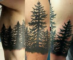 Spruce Tree Tattoo Tattoos Designs Ideas Meanings And Photos Tatring Decor Inspiration