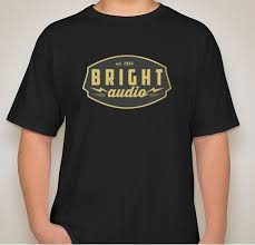 Bright Audio T Shirt Buy line Today