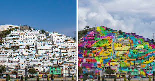 Famous Mexican Mural Artists by Mexican Government Asked Street Artists To Paint 200 Houses To