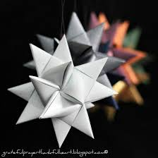 Beautiful Folded Paper German Stars Remind Many Of Childhood When They Were Made At Christmas Time