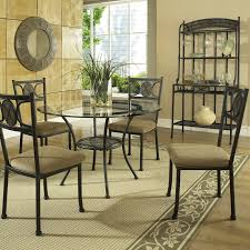 Round Kitchen Table Sets Walmart by Steve Silver Carolyn 5 Piece Dining Table Set Walmart Com