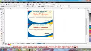 How To Print Certificate With Different Field Records Using Merge In Corel Draw