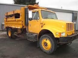 100 Single Axle Dump Truck 1995 International 4900 Inline 6 230HP
