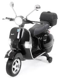 actionbikes motors elektro kinderroller kinder elektroroller piaggio vespa px150 belastbarkeit 35 kg roller motorrad bis 35kg belastbar