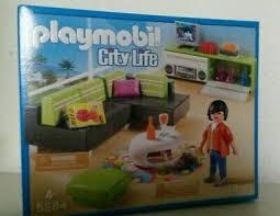 playmobil wohnzimmer 5584 neu ovp moderne luxusvilla haus villa möbel sofa ebay