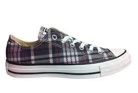 converse all plaid converse unisex chuck ct ox plaid sneaker