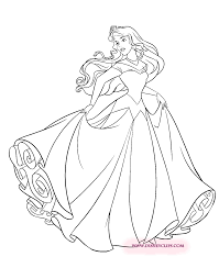 Sleeping Beauty Coloring Pages 2